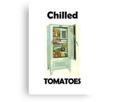 Chilled Tomatoes Canvas Print