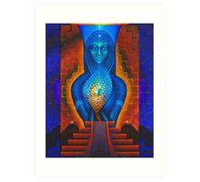 Starlight (Temple of the Dawn) Art Print