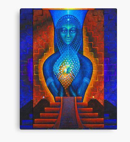 Starlight (Temple of the Dawn) Canvas Print