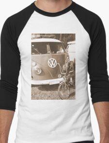 Old dragster Men's Baseball ¾ T-Shirt