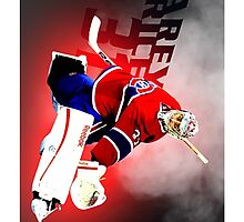 Carey Price Montreal Canadiens by Anggun15