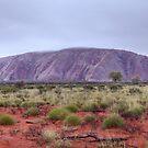 Uluru in the Rain by Steven Pearce