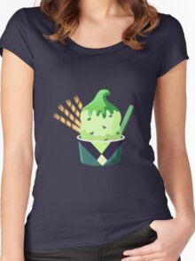 Universe Ice Cream - Peridot Women's Fitted Scoop T-Shirt