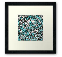 Aquamarine Abstract Framed Print