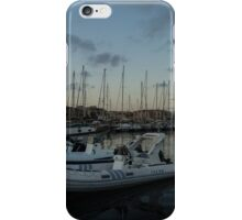 As the Evening Gently Comes - Ortygia, Syracuse, Sicily Grand Harbor  iPhone Case/Skin