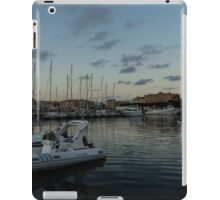 As the Evening Gently Comes - Ortygia, Syracuse, Sicily Grand Harbor  iPad Case/Skin