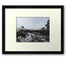 winter wonderland 8 Framed Print