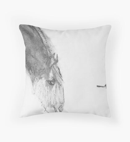robbie and willy wagtail Throw Pillow