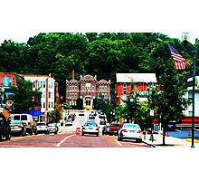 A College Town Photographic Print
