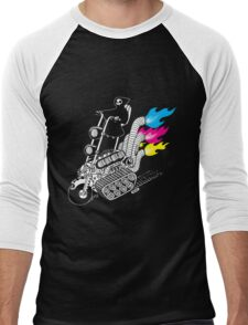 Grim Hellraiser Rides Again Men's Baseball ¾ T-Shirt