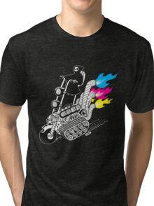 Grim Hellraiser Rides Again Tri-blend T-Shirt