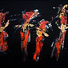 Four Dancers by jakking