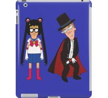 Tina Moon and Buttedo Mask iPad Case/Skin