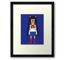 Tina Moon Framed Print