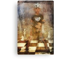 Little Knight Canvas Print