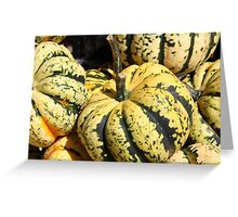 Gourd-geous Greeting Card