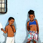 The usual suspects, Trinidad, Cuba by buttonpresser