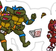 Turtles VS Cats Sticker