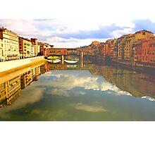 Florence-  Ponte Vecchio Photographic Print