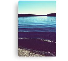was more about breathing than anything else Canvas Print