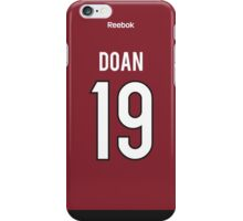 Arizona Coyotes Shane Doan Jersey Back Phone Case iPhone Case/Skin