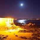 Blue moon at forte de caxias by terezadelpilar~ art & architecture