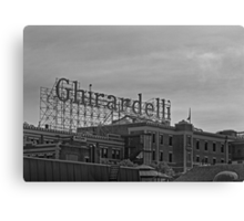 Ghirardelli Square in San Francisco Canvas Print
