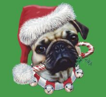 Puggy Christmas by bhymer