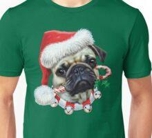 Puggy Christmas Unisex T-Shirt