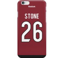 Arizona Coyotes Michael Stone Jersey Back Phone Case iPhone Case/Skin
