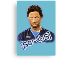 Scrubs J.D Canvas Print