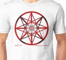 Lucas Darklord - Asmoir Probe Logo - Red Unisex T-Shirt