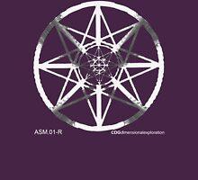 Lucas Darklord - Asmoir Probe Logo - White Unisex T-Shirt