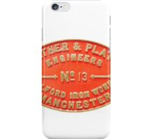Salford Iron Works - Manchester - No 13 iPhone Case/Skin