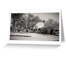 Virginian Christmas i Greeting Card