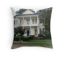 Dowdy's Office - Magnolia, MS Throw Pillow