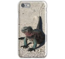 Galapagos Marine Iguana Dragging its Tail, Ecuador iPhone Case/Skin