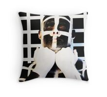 'An elegant ingocnito' - from a quote by Ralph Waldo Emerson Throw Pillow