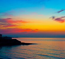 Sunrise La Zenia Beach by Fleshpiston