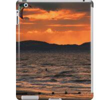 Surfing sunset iPad Case/Skin