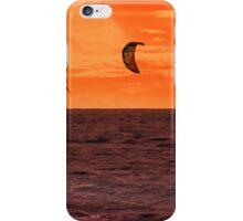 Surfing sunset iPhone Case/Skin