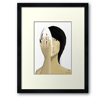 Mask Framed Print