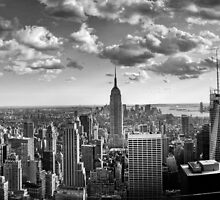 A Manhattan skyline by rahulnanavati