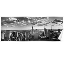 A Manhattan skyline Poster