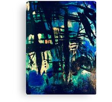 Blue Obsession  Canvas Print