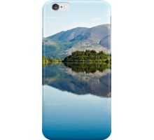 Blencathra Reflections - Derwentwater iPhone Case/Skin
