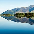 Blencathra Reflections - Derwentwater by David Lewins