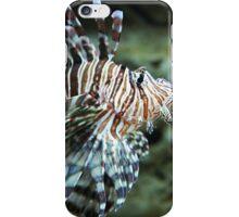 Lionfish, Atlanta Aquarium iPhone Case/Skin