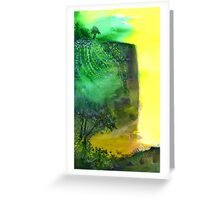 Cliff Greeting Card