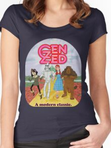 Wizard of Zed Women's Fitted Scoop T-Shirt